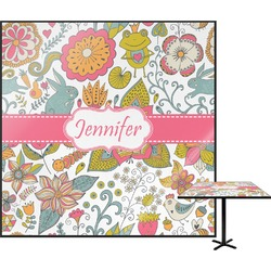 Wild Garden Square Table Top (Personalized)