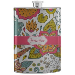 Wild Garden Stainless Steel Flask (Personalized)