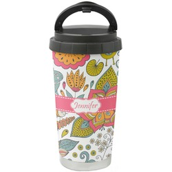 Wild Garden Stainless Steel Coffee Tumbler (Personalized)