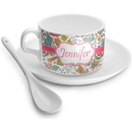 Wild Garden Tea Cups (Personalized)