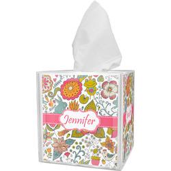 Wild Garden Tissue Box Cover (Personalized)