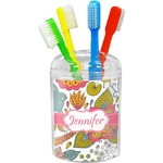 Wild Garden Toothbrush Holder (Personalized)