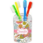 Wild Garden Toothbrush Holder (Personalized)