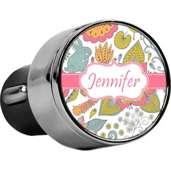 Wild Garden USB Car Charger (Personalized)