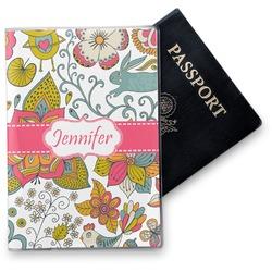 Wild Garden Vinyl Passport Holder (Personalized)