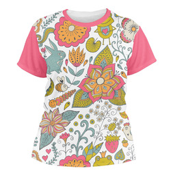 Wild Garden Women's Crew T-Shirt (Personalized)