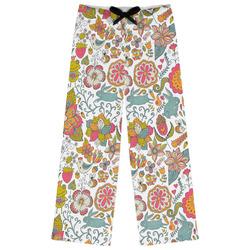 Wild Garden Womens Pajama Pants (Personalized)