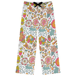Wild Garden Womens Pajama Pants - XL (Personalized)