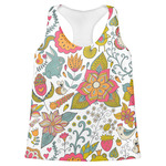 Wild Garden Womens Racerback Tank Top (Personalized)