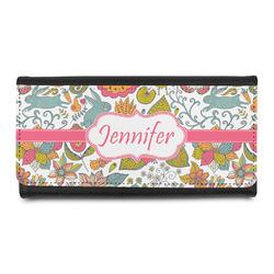 Wild Garden Leatherette Ladies Wallet (Personalized)