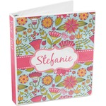 Wild Flowers 3-Ring Binder (Personalized)