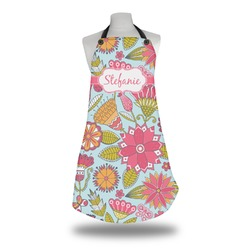 Wild Flowers Apron (Personalized)