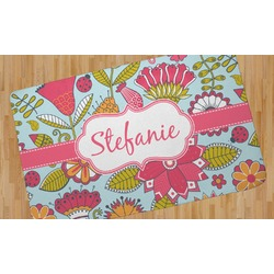 Wild Flowers Area Rug (Personalized)