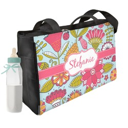 Wild Flowers Diaper Bag (Personalized)