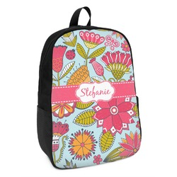 Wild Flowers Kids Backpack (Personalized)