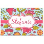 Wild Flowers Woven Mat (Personalized)