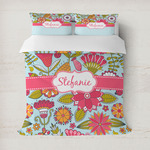 Wild Flowers Duvet Cover (Personalized)