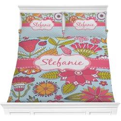 Wild Flowers Comforter Set (Personalized)