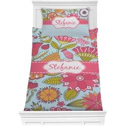 Wild Flowers Comforter Set - Twin XL (Personalized)