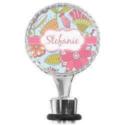 Wild Flowers Wine Bottle Stopper (Personalized)