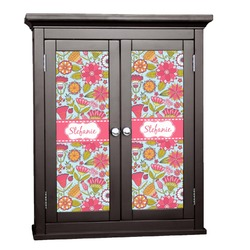 Wild Flowers Cabinet Decal - XLarge (Personalized)