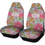 Wild Flowers Car Seat Covers (Set of Two) (Personalized)