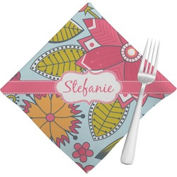 Wild Flowers Napkins (Set of 4) (Personalized)