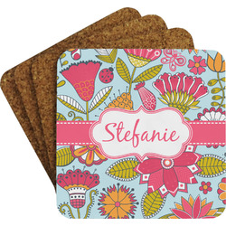Wild Flowers Coaster Set (Personalized)