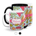 Wild Flowers Coffee Mugs (Personalized)