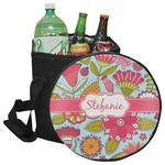 Wild Flowers Collapsible Cooler & Seat (Personalized)