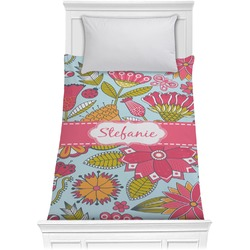 Wild Flowers Comforter - Twin (Personalized)