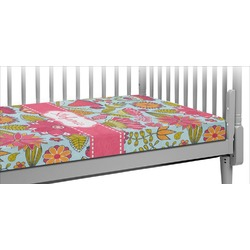 Wild Flowers Crib Fitted Sheet (Personalized)
