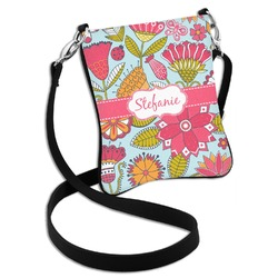 Wild Flowers Cross Body Bag - 2 Sizes (Personalized)