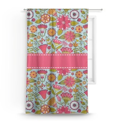Wild Flowers Curtain (Personalized)