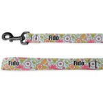 Wild Flowers Deluxe Dog Leash (Personalized)