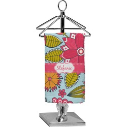 Wild Flowers Finger Tip Towel - Full Print (Personalized)