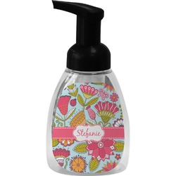 Wild Flowers Foam Soap Dispenser (Personalized)