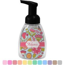 Wild Flowers Foam Soap Dispenser (Personalized)