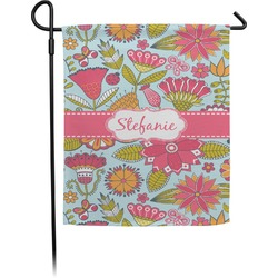 Wild Flowers Garden Flag (Personalized)