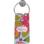 Wild Flowers Hand Towel - Full Print (Personalized)
