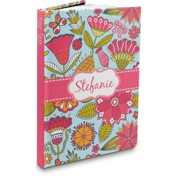 Wild Flowers Hardbound Journal (Personalized)