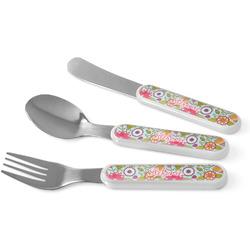 Wild Flowers Kid's Cutlery (Personalized)