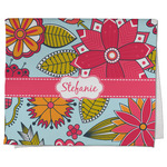 Wild Flowers Kitchen Towel - Full Print (Personalized)