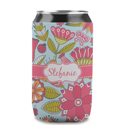 Wild Flowers Can Sleeve (12 oz) (Personalized)