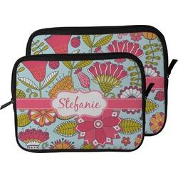 Wild Flowers Laptop Sleeve / Case (Personalized)