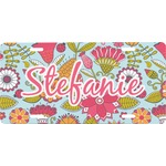 Wild Flowers Front License Plate (Personalized)