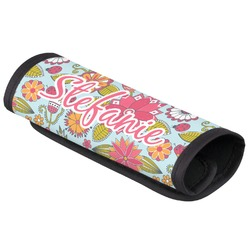 Wild Flowers Luggage Handle Cover (Personalized)