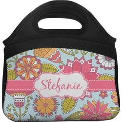 Wild Flowers Lunch Tote (Personalized)