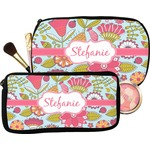 Wild Flowers Makeup / Cosmetic Bag (Personalized)