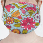 Wild Flowers Face Mask Cover (Personalized)